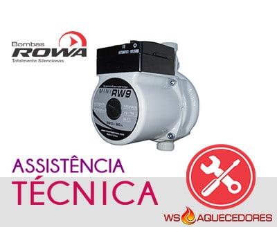 assistencia tecnica de pressurizadores rowa